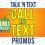 Talk N Text Prepaid Call & Text Promos