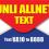 TM UNLIALLNET10 1-Day Unlimited Text Promo