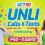 SMART Prepaid UCT50 : UNLI Calls and Texts promo